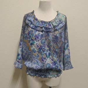 3for$20 blouse floral m